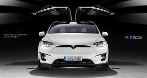 Тюнинг Tesla Model X от RevoZport