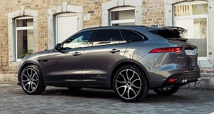 Jaguar F-Pace с тюнингом от AC Schnitzer