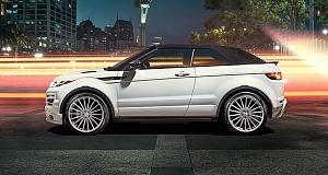 В Hamann тюнинговали Range Rover Evoque Convertible