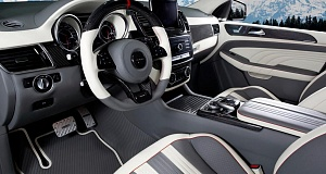 Mercedes-AMG GLE 63 Coupe в Женеве от ателье Mansory