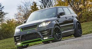 Новый тюнинг Range Rover Sport SVR от Lumma Design