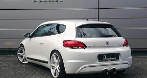 VW Scirocco с доработкой от B&B