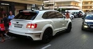 Фото тюнинга Bentley Bentayga от Mansory