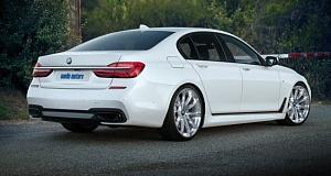 В Noelle Motors усилили BMW 750i