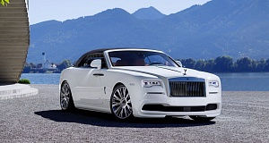 В Spofec произвели тюнинг кабриолета Rolls-Royce Dawn