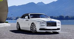 В Spofec произвели тюнинг кабриолета Rolls-Royce Dawn