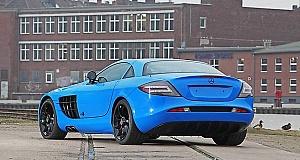 Совместный проект CUT48 и Edo по модификации Mercedes SLR McLaren