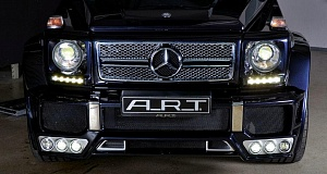 Тюнинг-ателье A.R.T., «изготовило» свой новый «боди-кит» для Mercedes-Benz G65/G63 AMG.