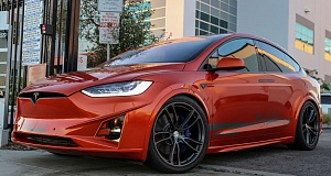 Tesla Model X с тюнингом от Unplugged Performance