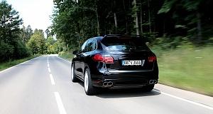 Новый Porsche Cayenne с бюджетным тюнингом от конторы Techart