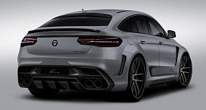 Анонс тюнинг комплекта CLR G 800 для Mercedes-Benz GLE Coupe от Lumma