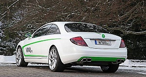 Mercedes-Benz CL500 – тюнинг от WRAPworks