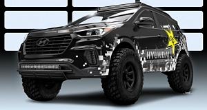 Тюнингованные Hyundai Santa Fe на SEMA