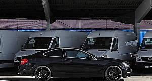 Тюнинг компания KTW Tuning – Black Daimler C63 AMG
