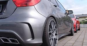 Тюнинг Mercedes-Benz A-Class от Inden Design