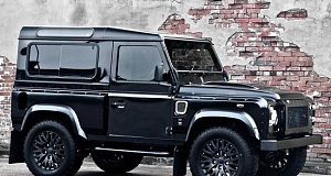 Проект ателье Project Kahn - Land Rover Defender Harris Tweed Edition