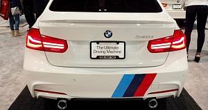 BMW 340i M Performance с выставки SEMA 2015