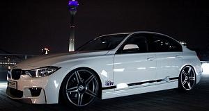 Аэродинамический пакет для седана BMW 3-Series F30 от компании Prior Design