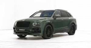 Bentley Bentayga в цвете Verdant Green от Startech