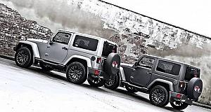 Kahn Design – Jeep Wrangler Matte Pearl Platinum