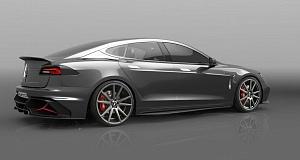 Анонс Up Design по тюнингу Tesla Model S
