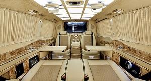 Тюнинг Mercedes V-Class с названием Black Crystal