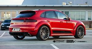 Более агрессивный Porsche Macan от немцев из Prior Design