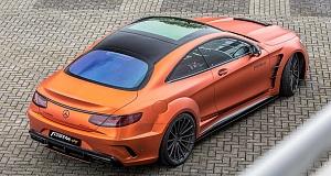 AMG S63 Coupe с доработкой от Prior Design и Fostla