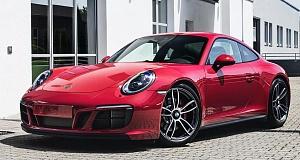 Обновленный Porsche 911 GTS стал еще мощнее