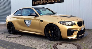 В Manhart улучшили BMW M2 и назвали ее MH2 630