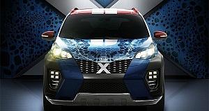 Kia Sportage в стиле Мистик из фильма «Люди Икс»