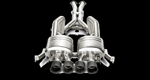 Выхлопная система Akrapovic для Chevrolet Corvette Z06 (C7)