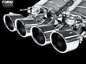 Выхлопная система Akrapovic для Chevrolet Corvette ZO6/ZR1 (C6) 2013