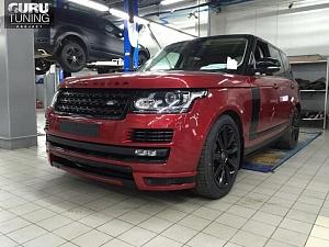 HAMANN Range Rover Vogue FIRENZE RED