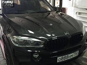 Карбоновый капот HAMANN для BMW X5 F15