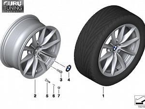 Диски BMW дизайн 296 для BMW Z4 E89