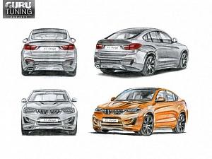 Индивидуальный дизайн для BMW X4 F26