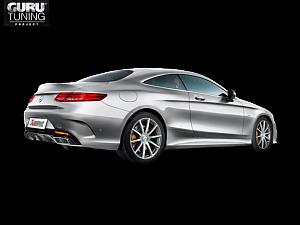 Выхлопная система Akrapovic для Mercedes-AMG S 63 Coup? (C217) 2016