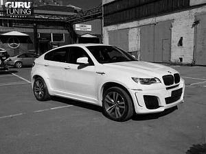 BMW X6 M LUMMA White
