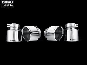 Выхлопная система Akrapovic для BMW X5 M (E70) 2014