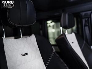 Переделка салона Mercedes g500 в салон Mercedes G63 AMG