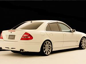 Выхлопная система от A_R_T для Mercedes E-class (w211)