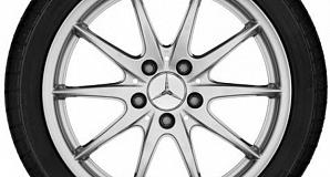 Диски для Mercedes A class W176 с 10  спицами