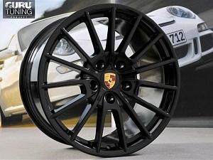 Диски Panamera Sport black на Porsche Panamera