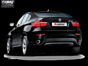 Выхлопная система Akrapovic для BMW X6 M (E71) 2014