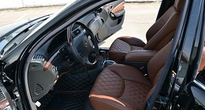 Тюнинг салона Mercedes A-class W176