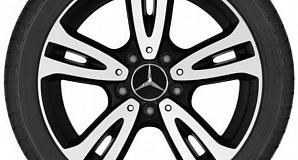 Диски для Mercedes A class W176 с 5 двойными спицами