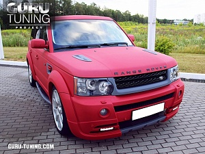 RANGE ROVER SPORT CORAL MAT