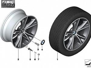 Диски BMW дизайн 515 для BMW Z4 E89