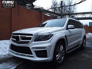 Mercedes GL 166 BRABUS WIDE STAR WHITE